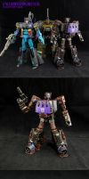 UW Combaticons/Bruticus Customization by Unicron9