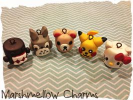 Marshmellow Charms by Marielishere