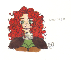 Winifred Colored by heroes-of-thedas
