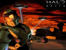 Halo Reach Poster by Duh-King-of-Art-0813