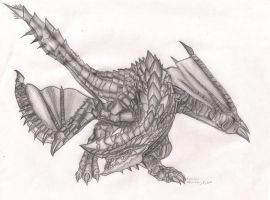 Barbarian Wyvern by Hauzers