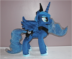 Princess Luna Plushie - V2 by mamaapple