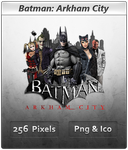 Batman Arkham City - Icon 4 by Crussong