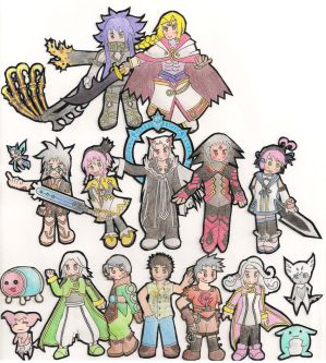 Tales of the World Characters
