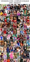 Cosplay Collage - 1999 to present by yayacosplay
