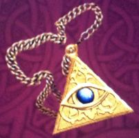 Eye of truth amulet by isaac77598