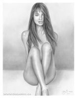My ART DRAWING: Adriana Lima by OlgaBell