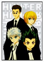HxH in Black by Altiera