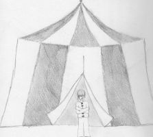 Straight Jacket at the Circus by iaml0st815