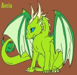 My Dragon OC's {Aeria} by xCryOfTheWolfx