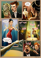 Monsieur Charlatan Page 30 by DrSlug