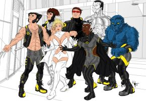 X-Men by Kaufee