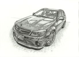 Vath Mercedes C V63RS by przemus
