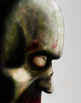 Zombie Closeup by VashUG
