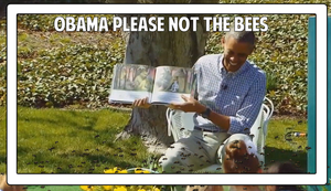 Obama Please Not the bees by Vendus