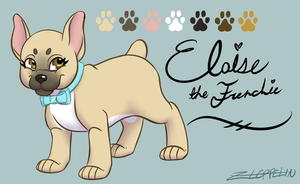 Eloise the Frenchie Reference by z-leppelin