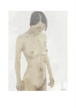 Complely Naked (watercolour) by ianwh