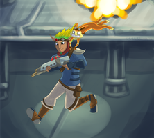 Jak and Daxter by Twin-Daggers