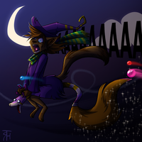 Never ride the Dorfusbroom by Tatchu