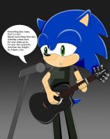 .:: Request: Sonic Springsteen by MollzyStJimmy