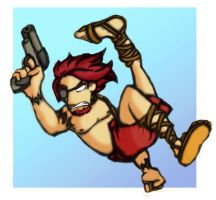 Sketch-a-Day: Hunter MacInneas by TheCrowchan