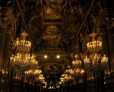 Paris Opera House by CloakedNightfall