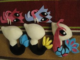 Build-your-own Milotic plush kit by aSourLemon