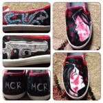 Three Cheers for Sweet Revenge Shoes by panther2010