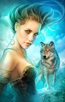 Lady Wolf (By Shannon Maer) by Shannon-Maer