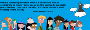 Phineas and Ferb: RIP Nelson Mandela by 3D4D