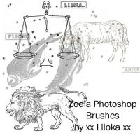 Zodiac Brushes by superlibbie