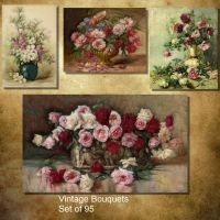 Vintage Bouquets by oldhippieart