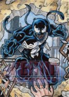 Venom - Sketch Card by tonyperna