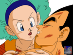 VegetaXBulma.:Lineart23:.Color by PrinzVegeta