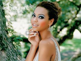 Beyonce Maquillada 2 by EscorpioTR