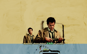 cas with a gun by unicornRulez