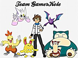 [REQUEST] Team GamerKole~ by TheKalosQueenSerena