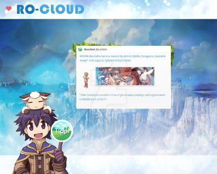 Ragnarok Online - Loadingscreen RO-Cloud by Yon-Miyu