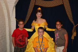 Belle and my step children by tygertailzz
