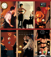 Jack Vettriano Tribute by niteowl360