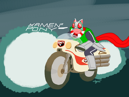 Kamen Pony by Captain-Marvelous