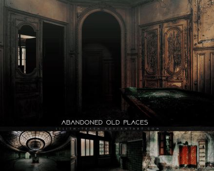 Abandoned old Places ( Stock ) #25 by Lilith-Trash