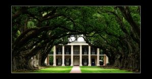Oak Alley Plantation by MissKajunKitty