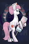 Nurse Redheart Background for Deadpants by saucycustoms