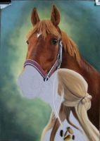 Real love Drawing in pastel by mo62