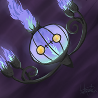 #609 - Chandelure by BoWhatElse
