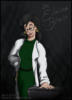 Dr. Elaina Brain by Akril15