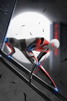 Spider-Man 2099 Francesco Mattina Recreation by LitgraphiX
