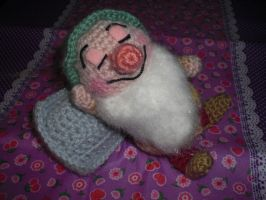 Sleepy from 7 dwarfs amigurumi by elbuhocosturero