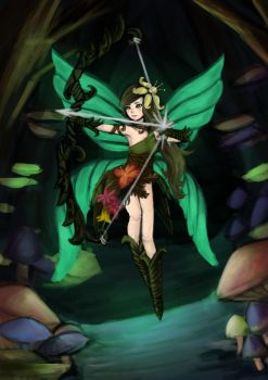 Fairy Archer by ItsHorrible